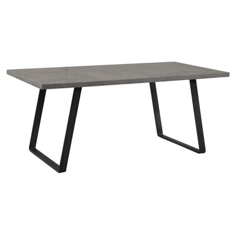 Armen Living Coronado Contemporary Dining Table Cement Gray - image 1 of 8
