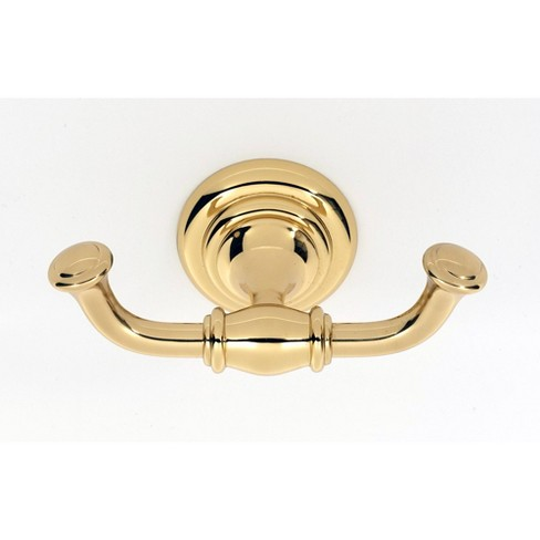 "Alno A6784 Charlie's 2"" Tall Double Prong Robe Hook - image 1 of 1"