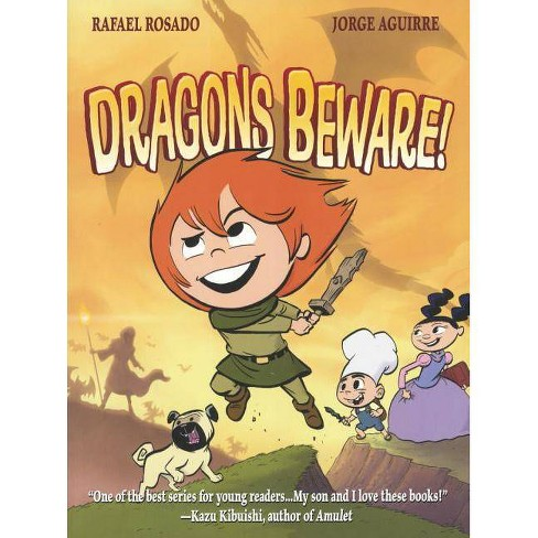 Dragons Beware! - (Chronicles of Claudette) by  Jorge Aguirre (Hardcover) - image 1 of 1