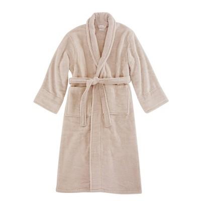 L/XL Luxe Zero Twist Bath Robe Blush - Charisma