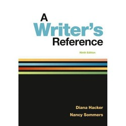 A Writer's Reference - 9th Edition by  Diana Hacker & Nancy Sommers (Spiral_bound)