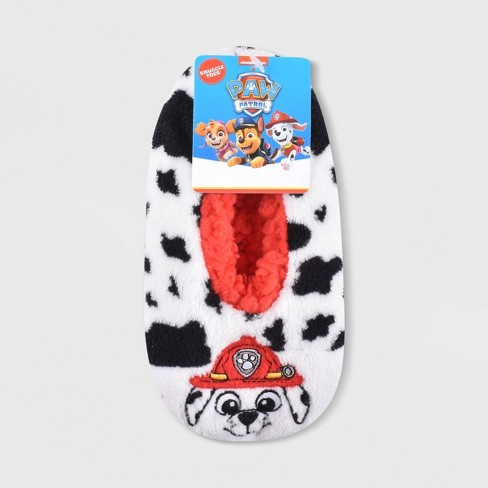 Toddler PAW Patrol Slippers - White - image 1 of 1