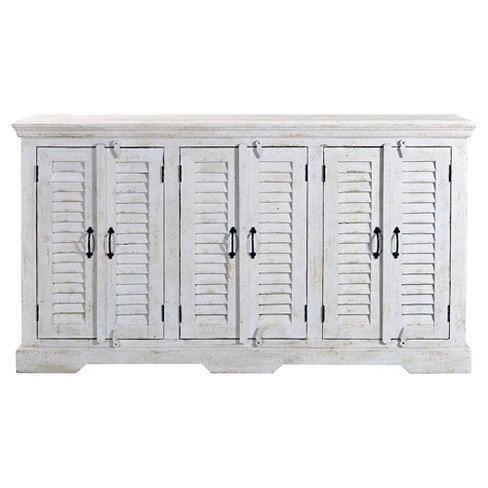 Kundara Six Door Credenza - White - Christopher Knight Home - image 1 of 3