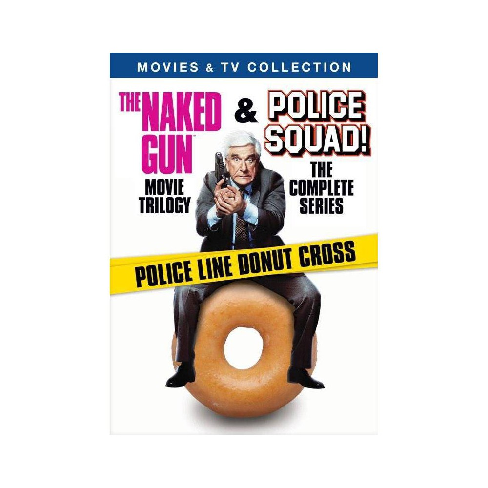 Police Squad Tv Movie Collection Dvd 2018