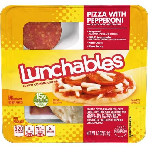 Oscar Mayer Lunchables Pepperoni Pizza - 4.3oz - image 1 of 3