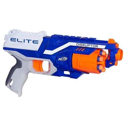 nerf n strike elite disruptor blaster target