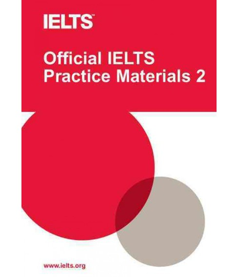 Official Ielts Practice Materials 2 -  (Official Ielts Practice Materials) (Paperback) - image 1 of 1