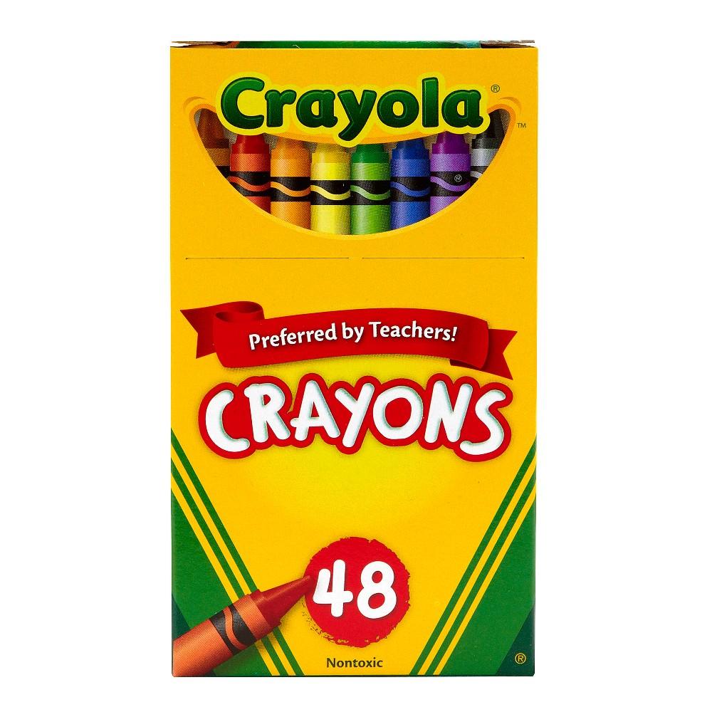 Crayola 48ct Crayons, Multi-Colored