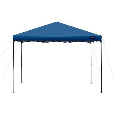 Monoprice 10 x 10 ft Pop Up Canopy - Navy Blue, 500D Polyester Canopy Cover, UPF50+, Waterproof, For Backyard BBQs, Camping, Tailgate, Sporting Events