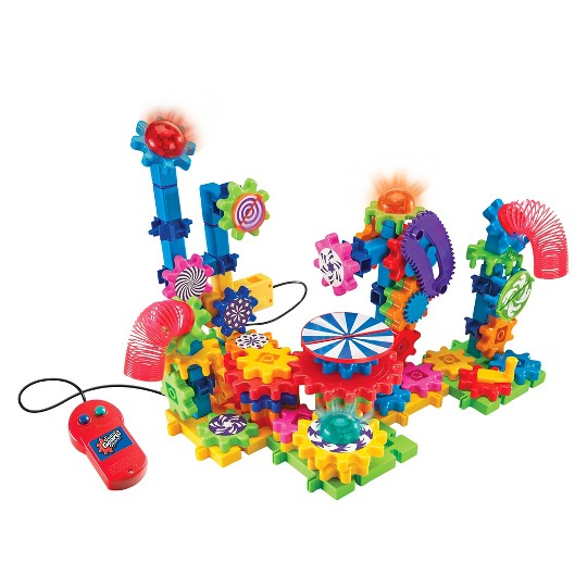 Learning Resources Gears Lights and Action Building Set image number null