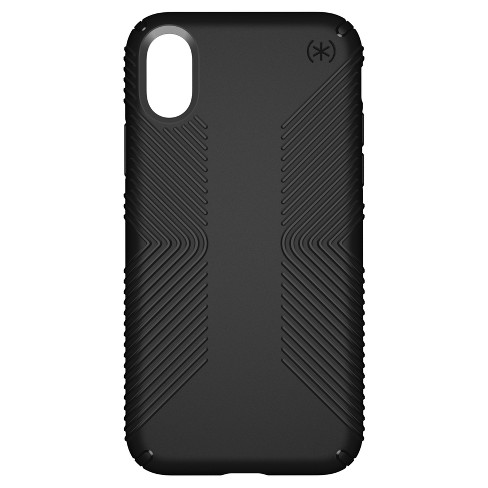 newest 1ae3c f6028 Speck iPhone X Case Presidio Grip - Black