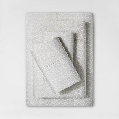 King 400 Thread Count Printed Performance Sheet Set Beachcomber - Threshold™