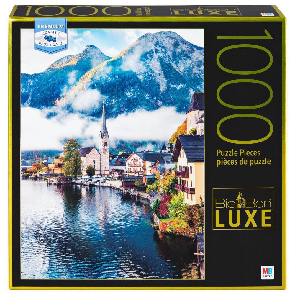 Big Ben Halstatt Lake Puzzle 1000pc