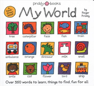 My World by Roger Priddy (Board Book)