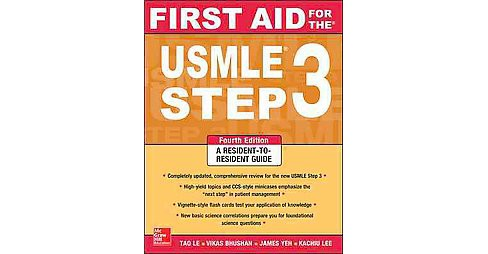 First Aid for the USMLE Step 3 (Paperback) (Tao Le) - image 1 of 1
