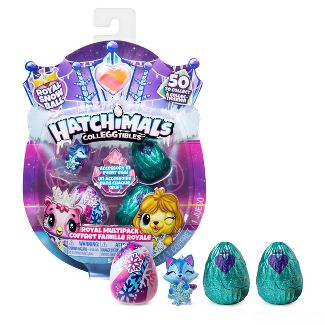 Hatchimals CollEGGtibles Royal Multipack with 4 Hatchimals and Accessories Blind Pack