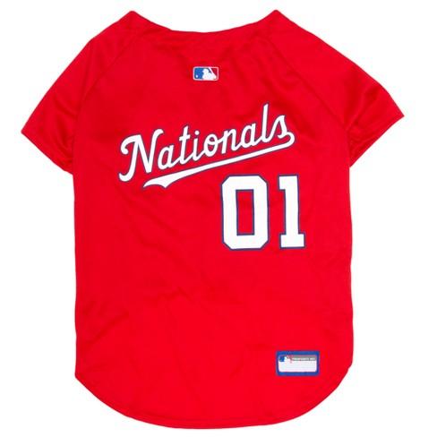 Washington Nationals Pets First Pet Baseball Jersey   Target 738ffc1dd