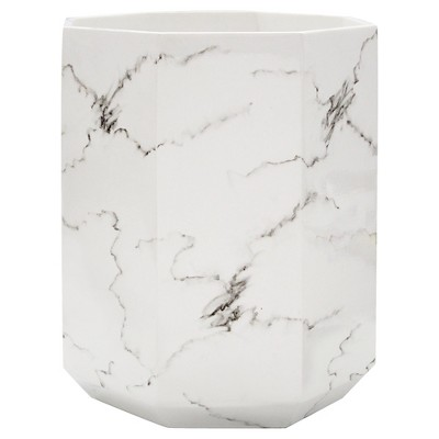 Marble Facet Wastebasket - Allure