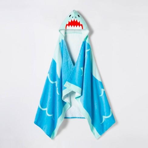 c7e8f28941 Shark Hooded Beach Towel - Sun Squad™ : Target