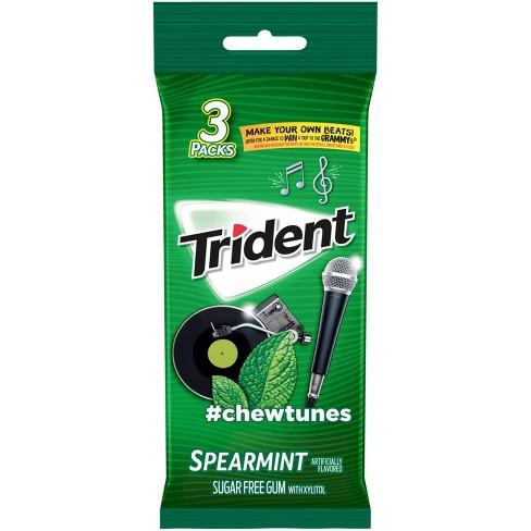 Trident Spearmint Sugar Free Gum - 42ct - image 1 of 4