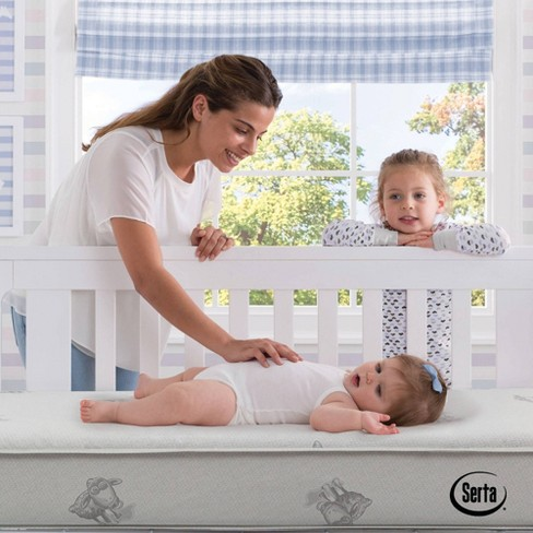 Serta Perfect Embrace Crib and Toddler Mattress - image 1 of 4