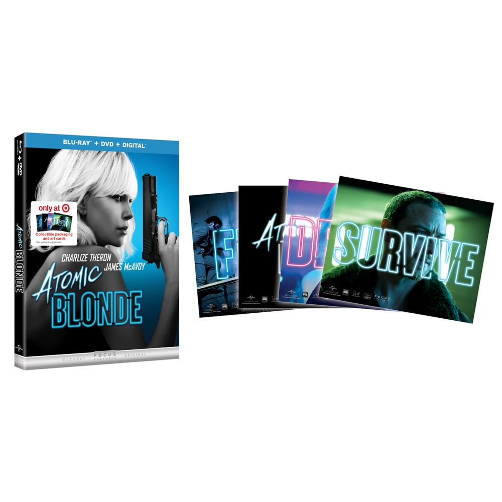 Atomic Blonde Target Exclusive (Blu-ray + Dvd + Digital)