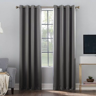 Oslo Theater Grade Extreme Blackout Grommet Top Curtain Panel - Sun Zero