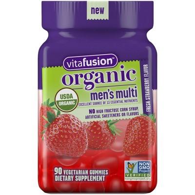 Multivitamins: Vitafusion Organic Men's Gummy Vitamin