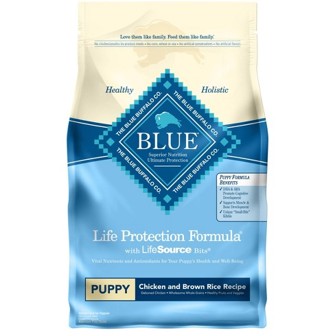 Blue Buffalo Life Protection Chicken & Brown Rice Recipe Puppy Dry Dog Food - image 1 of 4