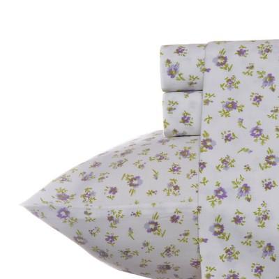 300 Thread Count Printed Cotton Sheet Set - Laura Ashley