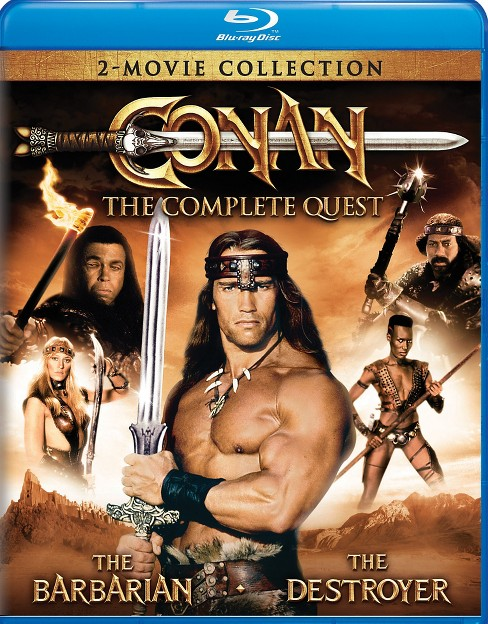 Conan:Complete Quest (Blu-ray) - image 1 of 1