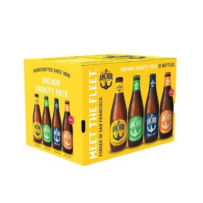 Anchor Brewing Variety Pack - 12pk/12 fl oz Bottles