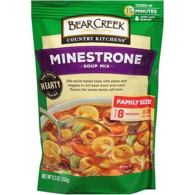 Bear Creek Country Kitchen Minestrone Soup Mix 9.3oz