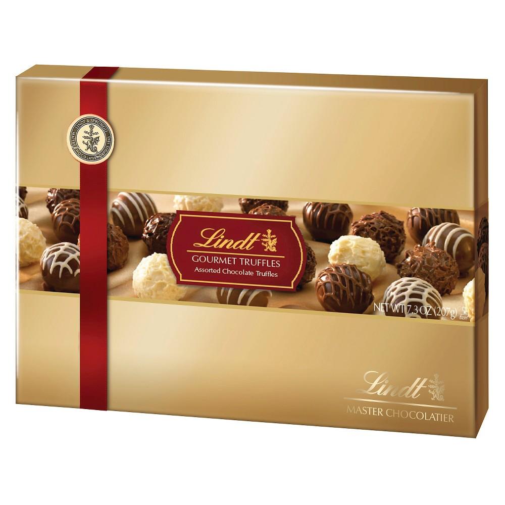 Lindt Gourmet Truffles Assorted Chocolates 7 3oz