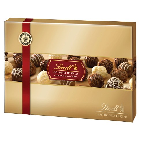 Lindt Gourmet Truffles Assorted Chocolates - 7.3oz - image 1 of 3