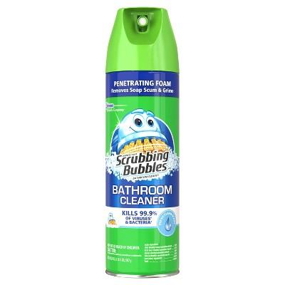 Merveilleux Scrubbing Bubbles Penetrating Foam Bathroom Cleaner   Fresh Scent   20oz :  Target