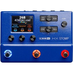 Line 6 HX Stomp Limited-Edition Lightning Blue Multi-Effects Pedal