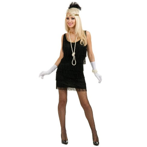 Charades Fashion Flapper Costume (Size XL) - image 1 of 1