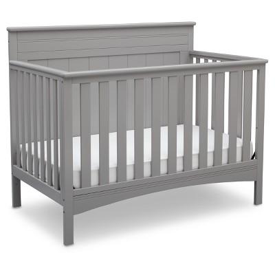 Delta Children® Fancy 4-in-1 Standard Full-Sized Crib - Gray