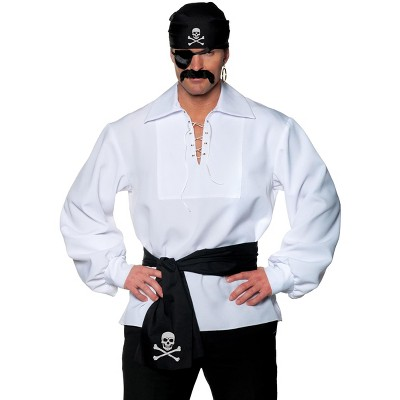 Underwraps Pirate 5 Piece Adult Costume Accessory Kit | One Size