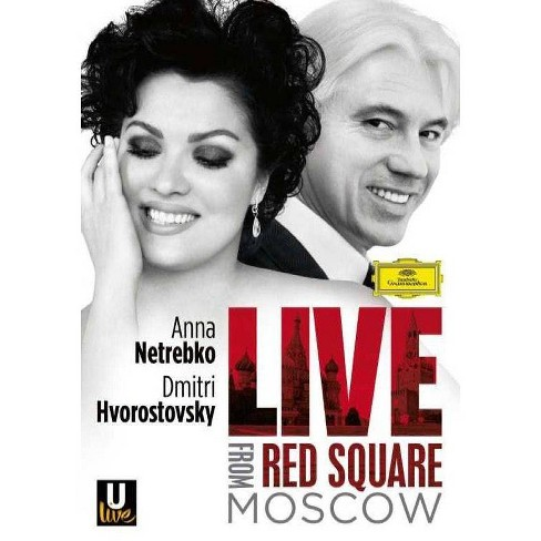 Anna Netrebko & Dmitri Hvorostovsky: Live from Red Square Moscow (DVD) - image 1 of 1