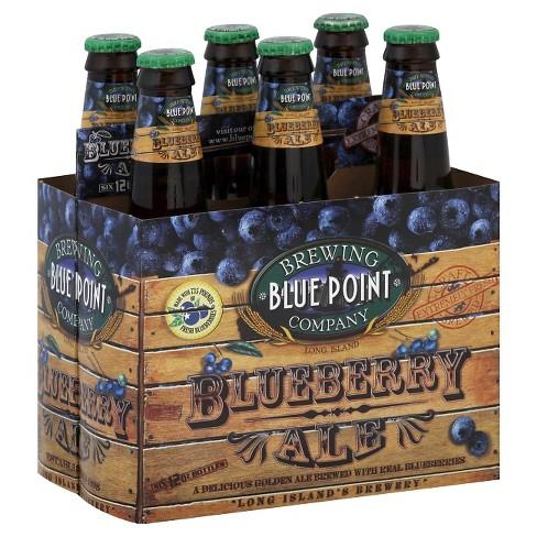 Blue Point Blueberry Ale Beer - 6pk/12 fl oz Bottles - image 1 of 1