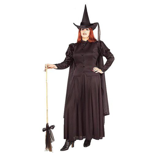 Halloween Women's Classic Witch Costume One Size, Black