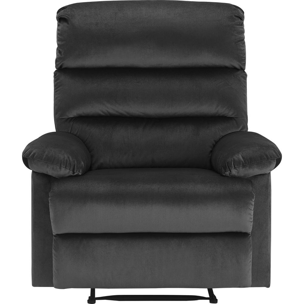 Image of Davis Recliner Chair Dark Gray - Click Décor