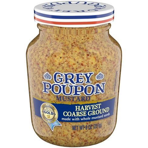 Grey Poupon Mustard Harvest Coarse Ground - 8oz - image 1 of 3