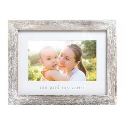 "Pearhead Me & My Aunt Picture 4"" x 6"" Frame"