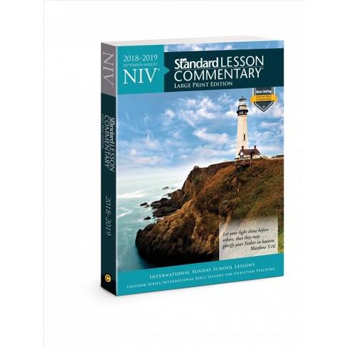 Niv Standard Lesson Commentary 2018 2019 Septembe Target