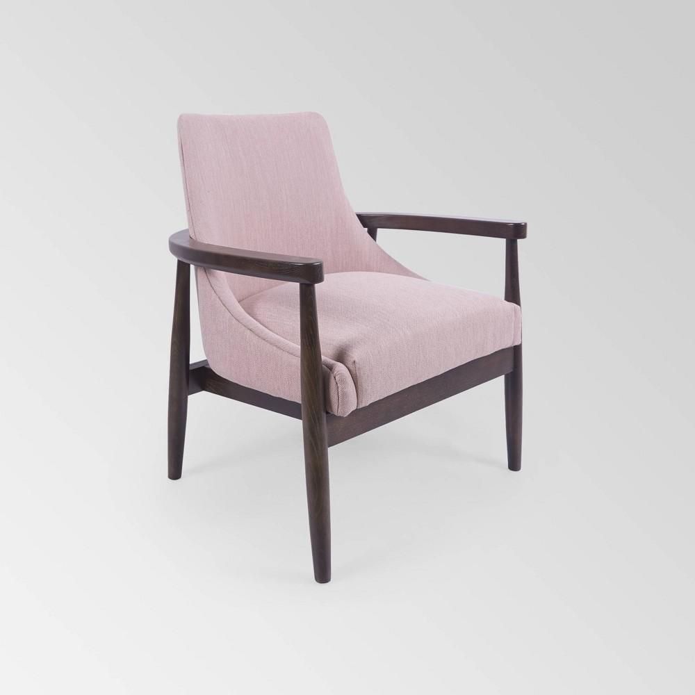 Allamar Club Chair Light Pink Christopher Knight Home