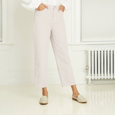 Women's High-Rise Vintage Straight Fit Cropped Jeans - Universal Thread™