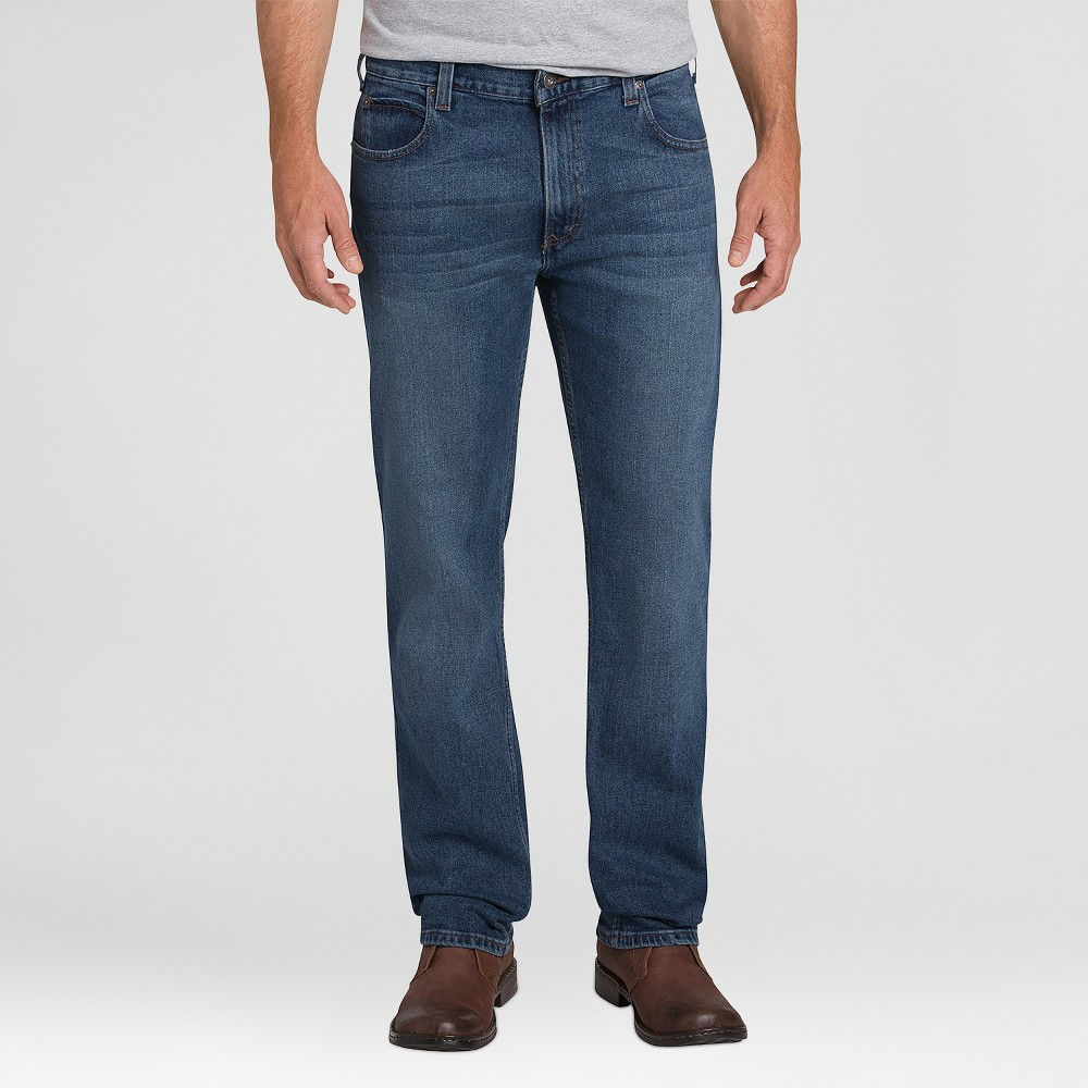 Dickies Men's Relaxed Straight Fit Jeans - Medium Denim Wash 32x32